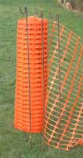 Netting and fence posts can be purchased from many DIY, hardware shops or online. I was able to purchae barrier netting from   UK Tapes Ltd (tel 01376 349090); online-orders@uktapes.com  Modern Dog Sp